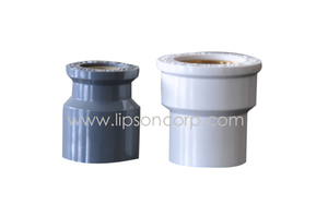 ISO PVC Reducer with Copper Insert